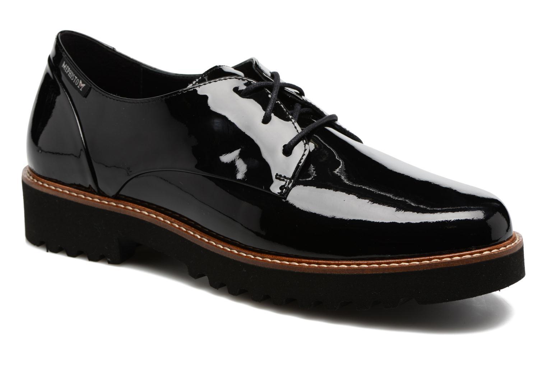 Chaussures à lacets Mephisto Sabella Noir vue 3/4