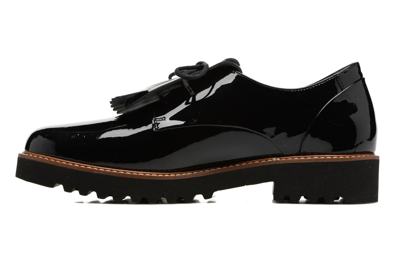Chaussures à lacets Mephisto Sabella Noir vue face