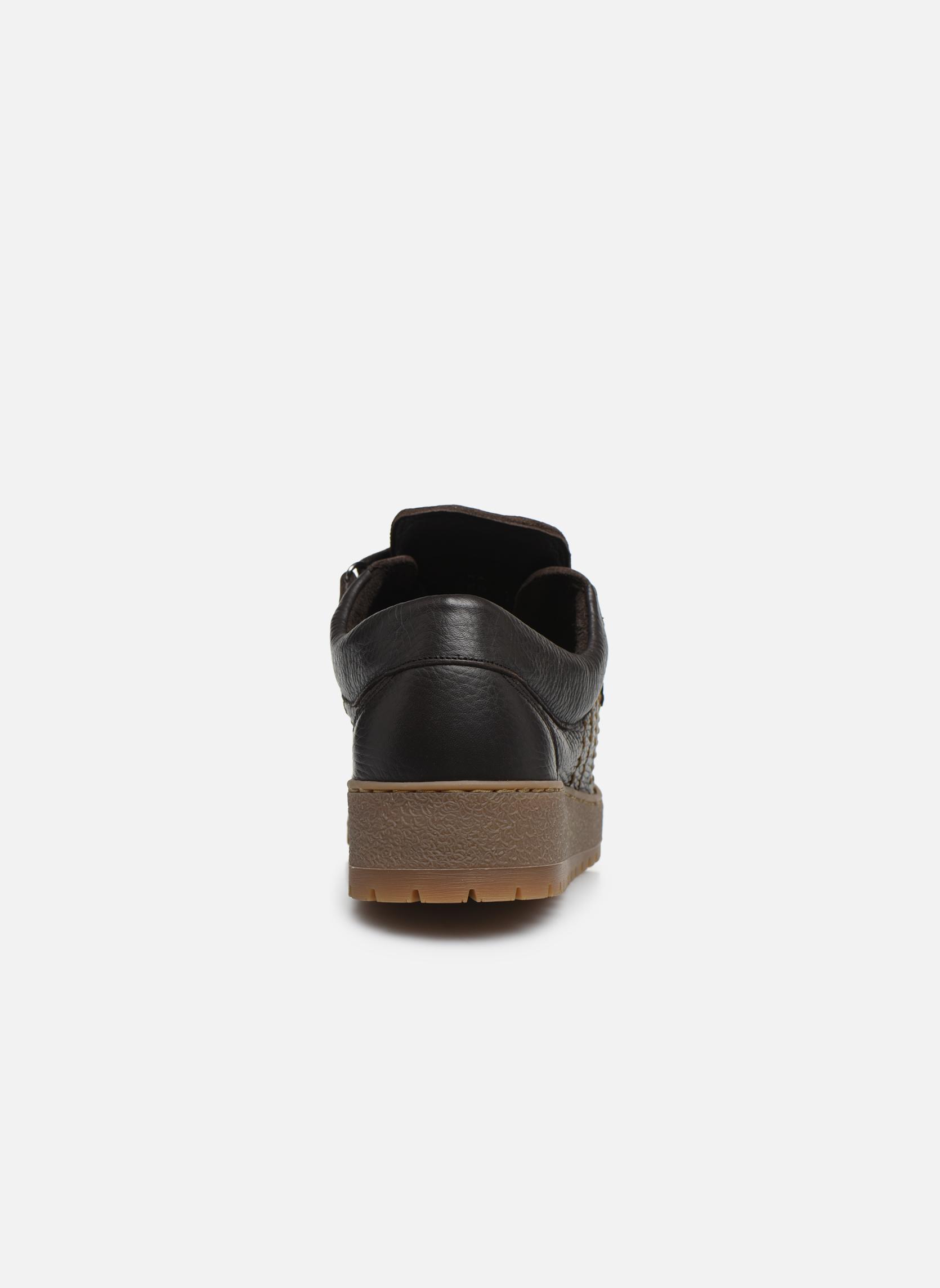 Chaussures à lacets Mephisto Rainbow Marron vue droite