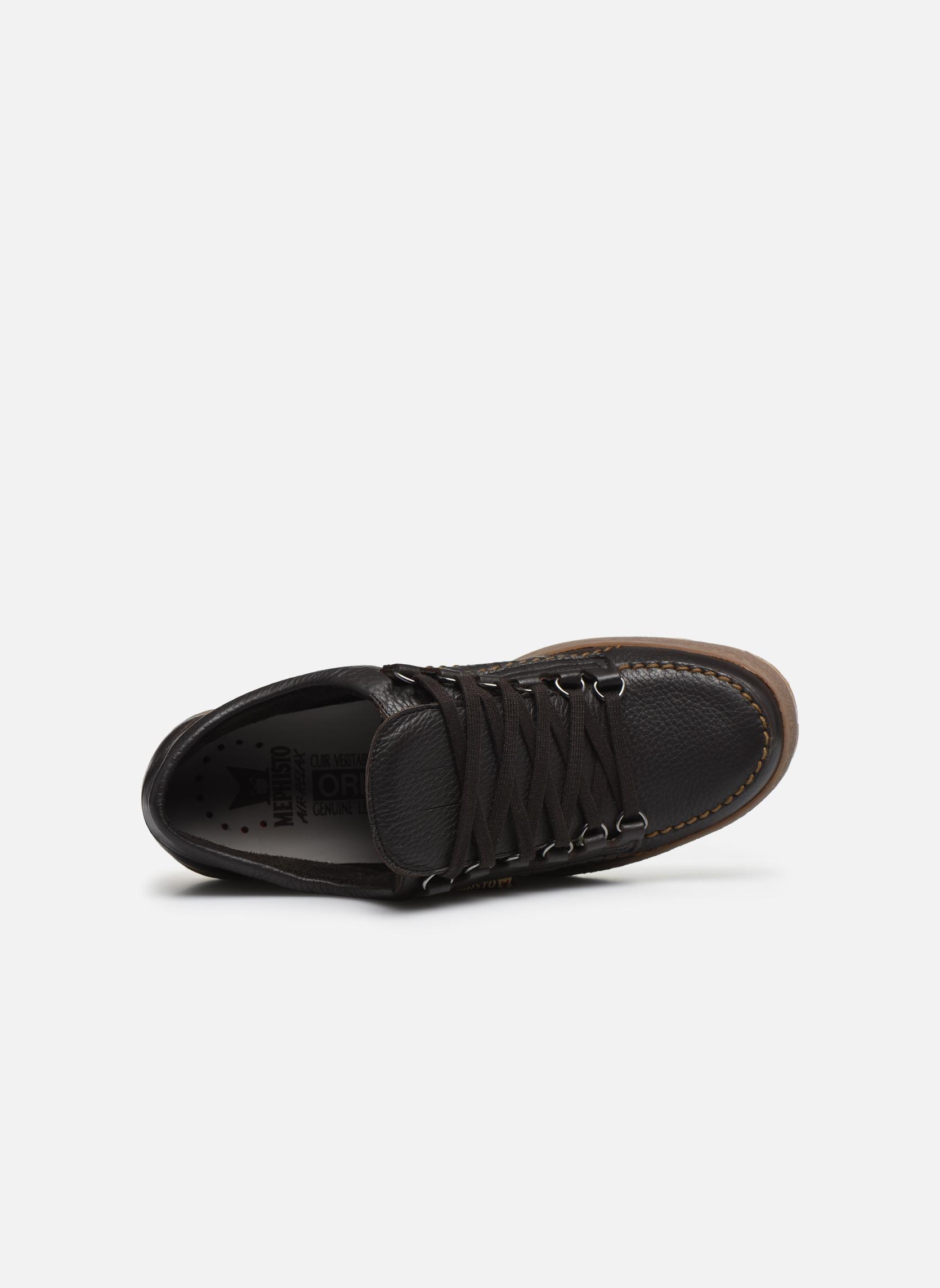 Chaussures à lacets Mephisto Rainbow Marron vue gauche