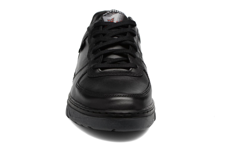 Baskets Mephisto Marek Noir vue portées chaussures
