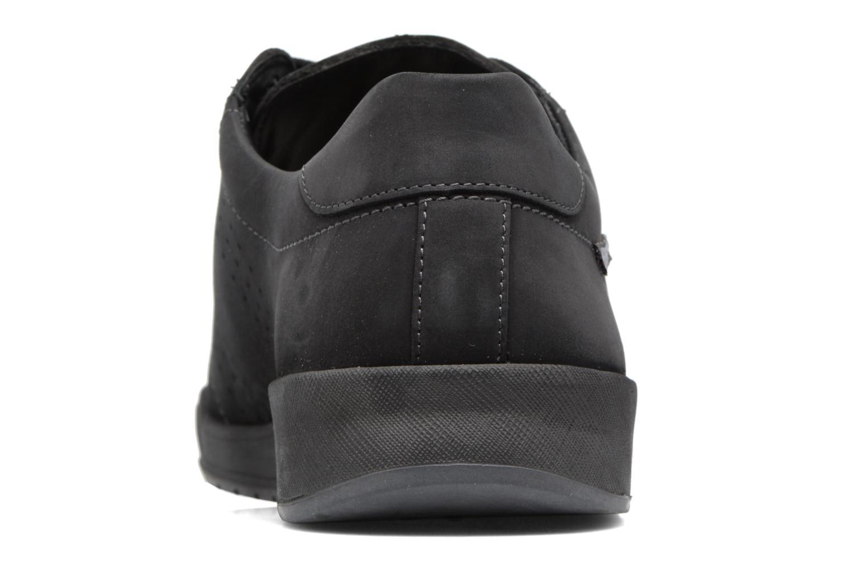 Baskets Mephisto Rufo Noir vue droite