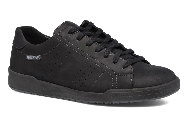 Sneakers Mephisto Rufo Zwart detail
