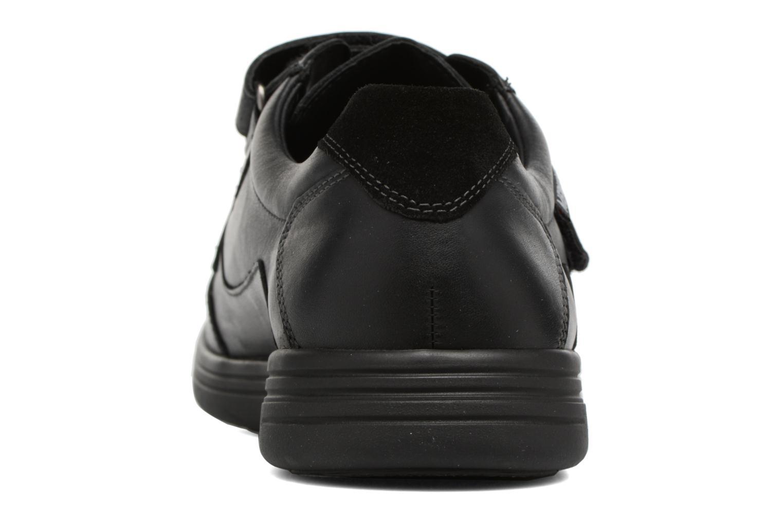 Baskets Mephisto Fulvio Noir vue droite