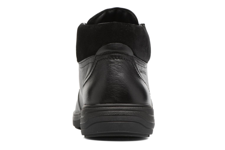 Bottines et boots Mephisto Darwin Noir vue droite