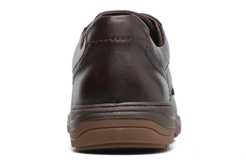 Chaussures à lacets Mephisto Denys Noir vue droite