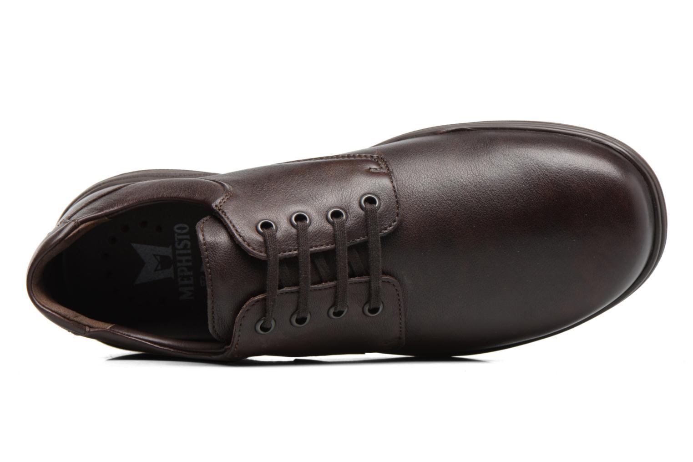 Chaussures à lacets Mephisto Denys Noir vue gauche