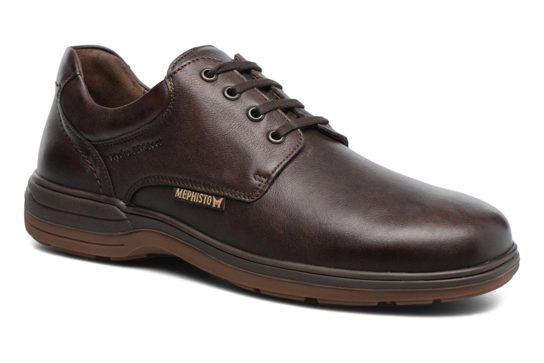 Chaussures à lacets Mephisto Denys Noir vue détail/paire