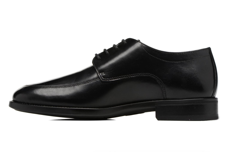 Chaussures à lacets Mephisto Carlo Noir vue face