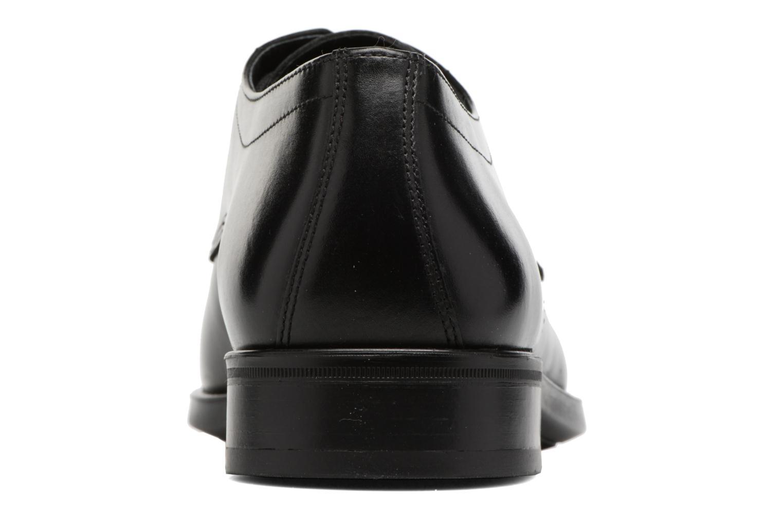 Chaussures à lacets Mephisto Carlo Noir vue droite