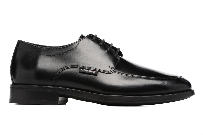 Chaussures à lacets Mephisto Carlo Noir vue derrière