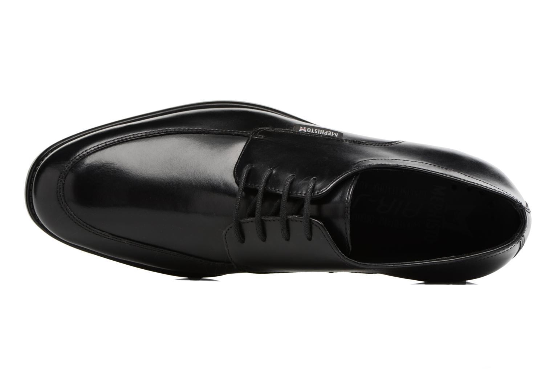 Chaussures à lacets Mephisto Carlo Noir vue gauche