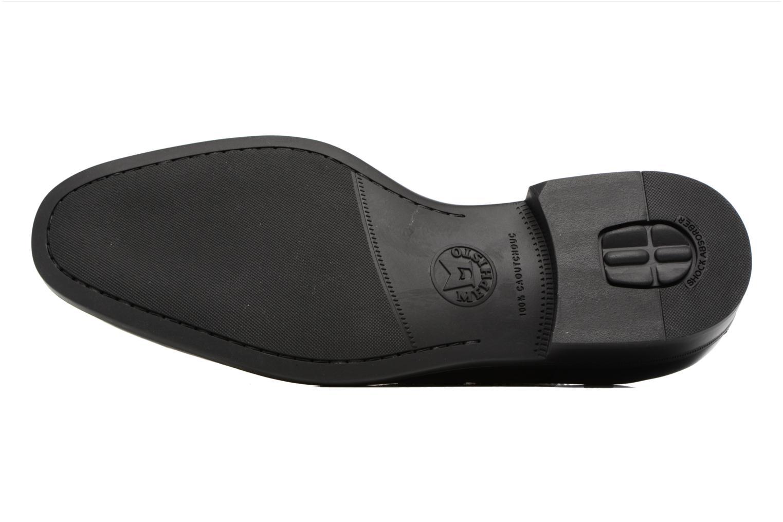 Chaussures à lacets Mephisto Carlo Noir vue haut