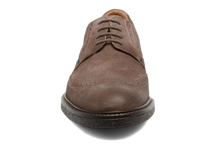 Chaussures à lacets Mephisto Geffray Marron vue portées chaussures