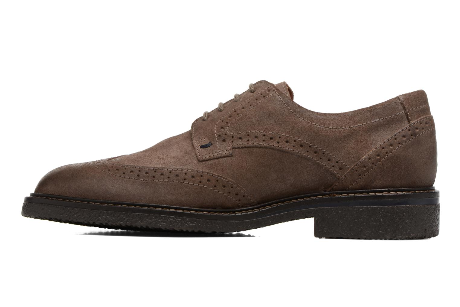 Chaussures à lacets Mephisto Geffray Marron vue face