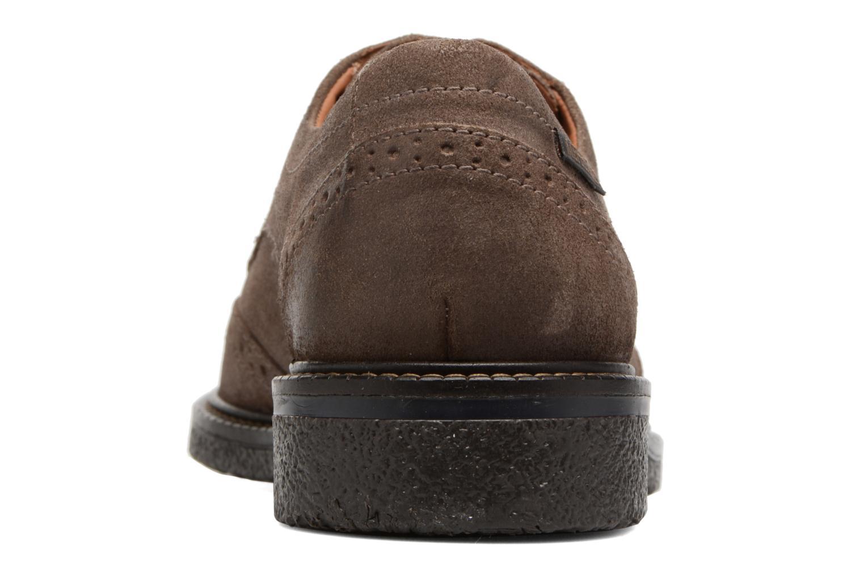 Chaussures à lacets Mephisto Geffray Marron vue droite