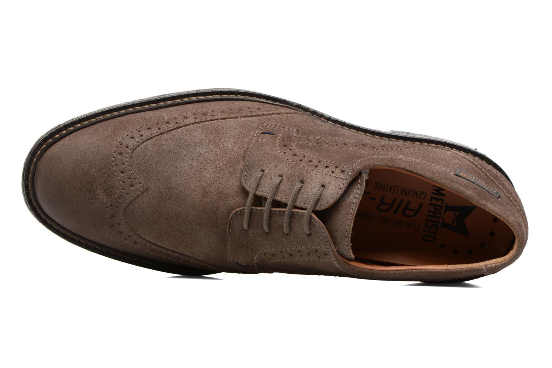Chaussures à lacets Mephisto Geffray Marron vue gauche