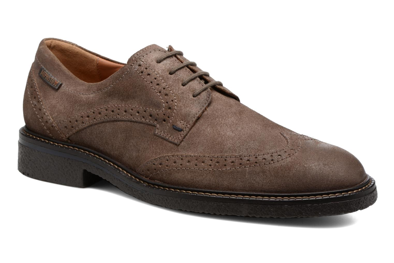 Chaussures à lacets Mephisto Geffray Marron vue détail/paire
