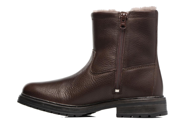 Bottines et boots Mephisto Leonardo Marron vue face