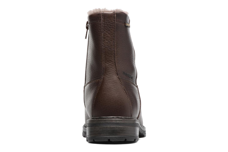 Bottines et boots Mephisto Leonardo Marron vue droite