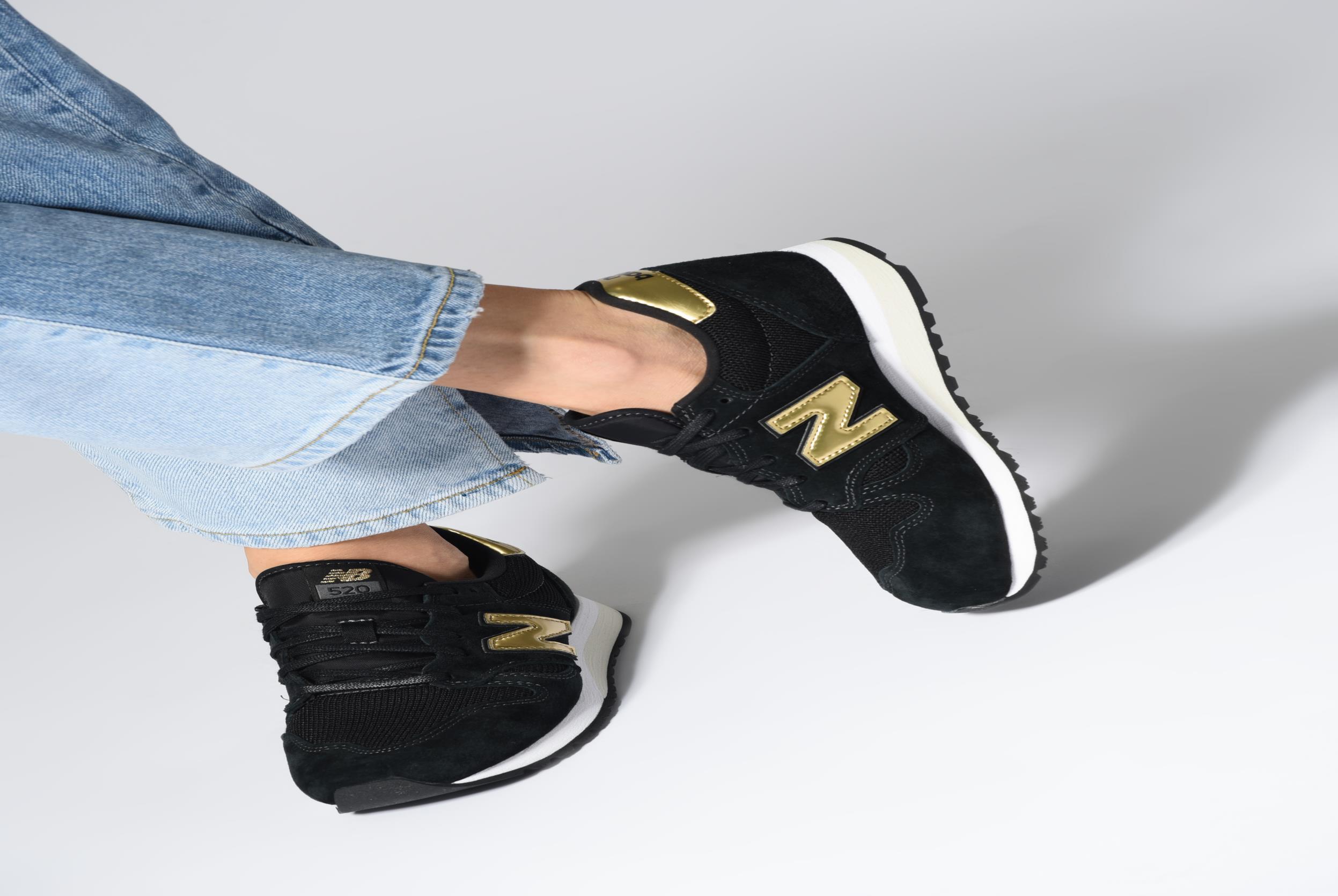Sneakers New Balance WL520 Zwart onder