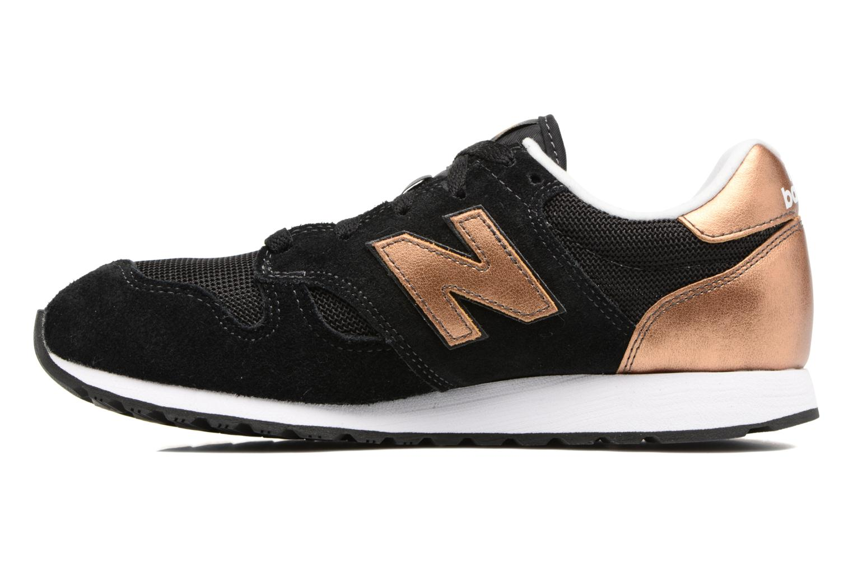 Sneakers New Balance WL520 Zwart voorkant