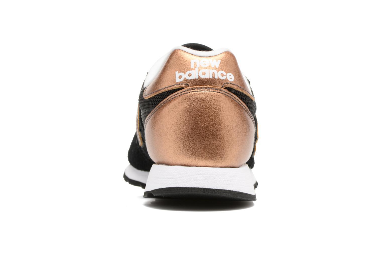 Sneakers New Balance WL520 Zwart rechts