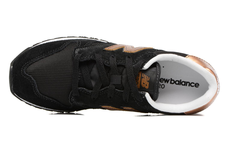 Sneakers New Balance WL520 Zwart links