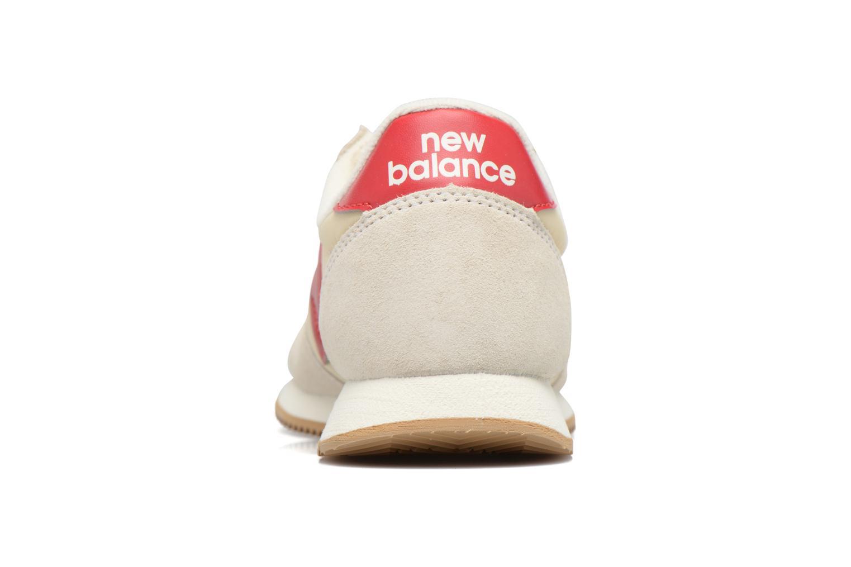 Baskets New Balance WL220 Blanc vue droite