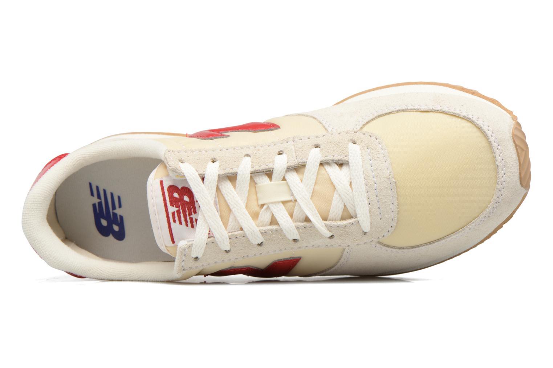 Baskets New Balance WL220 Blanc vue gauche