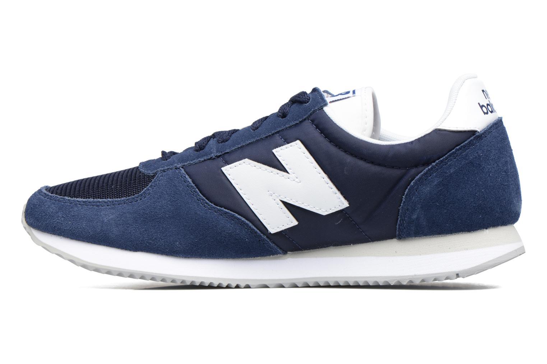 Sneakers New Balance U220 Azzurro immagine frontale