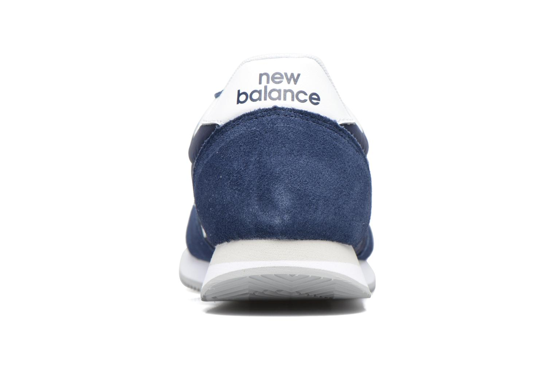 Sneakers New Balance U220 Azzurro immagine destra