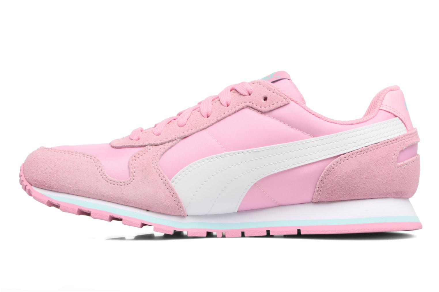 Baskets Puma JR St Runner NL Rose vue face