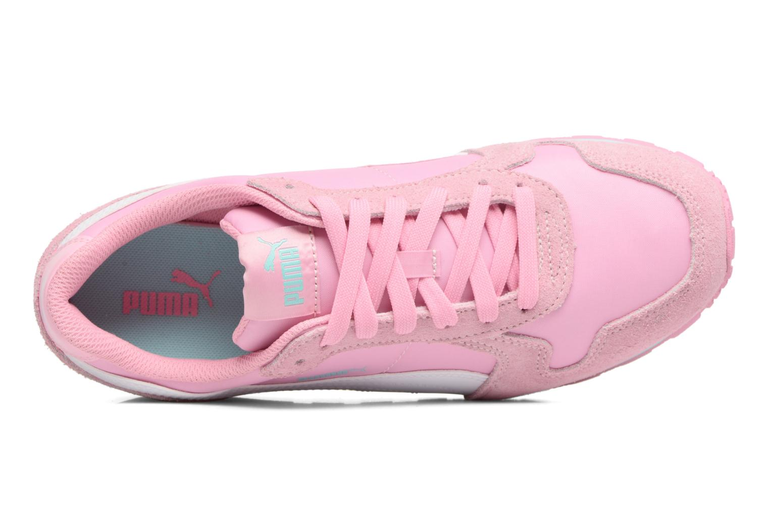 Baskets Puma JR St Runner NL Rose vue gauche