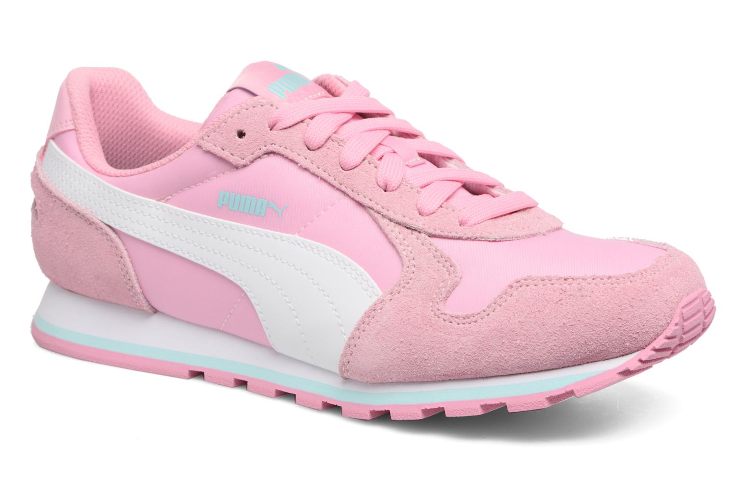 Baskets Puma JR St Runner NL Rose vue détail/paire