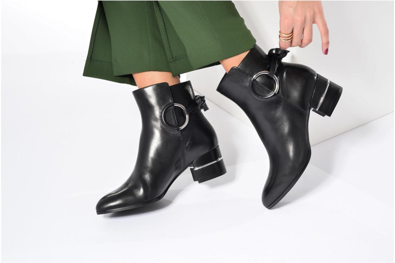 Bottines et boots What For Aiden Calf Noir vue bas / vue portée sac