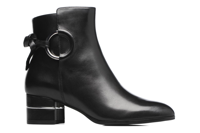 Bottines et boots What For Aiden Calf Noir vue derrière