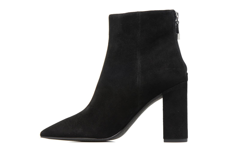 Boots en enkellaarsjes What For Lou Zwart voorkant