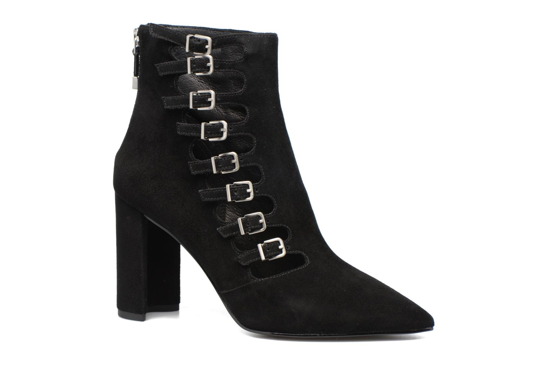 Boots en enkellaarsjes What For Lou Zwart detail