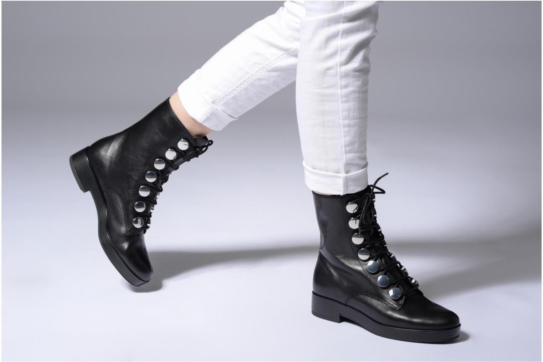 Bottines et boots What For Paula Noir vue bas / vue portée sac