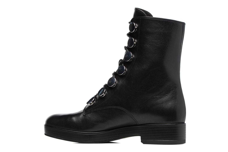 Bottines et boots What For Paula Noir vue face