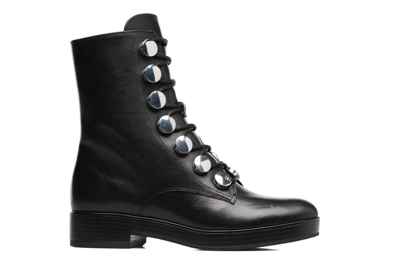 Boots en enkellaarsjes What For Paula Zwart achterkant