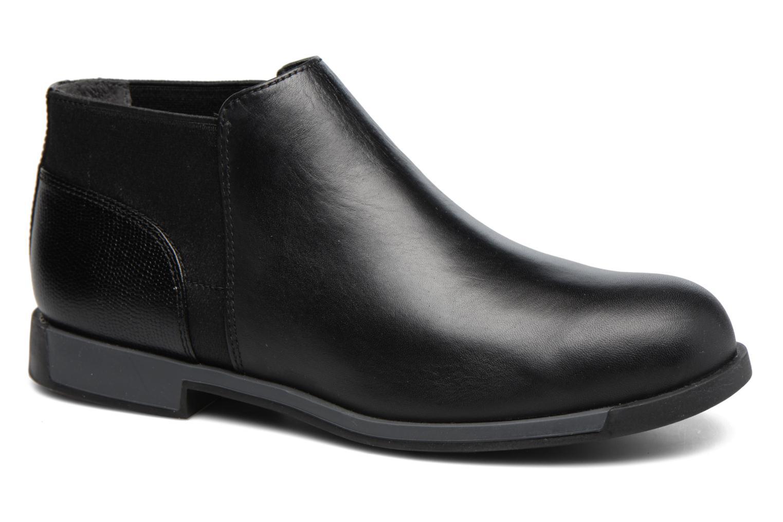 Camper Bowie K400199 (Noir) - Bottines et boots chez Sarenza (303625)