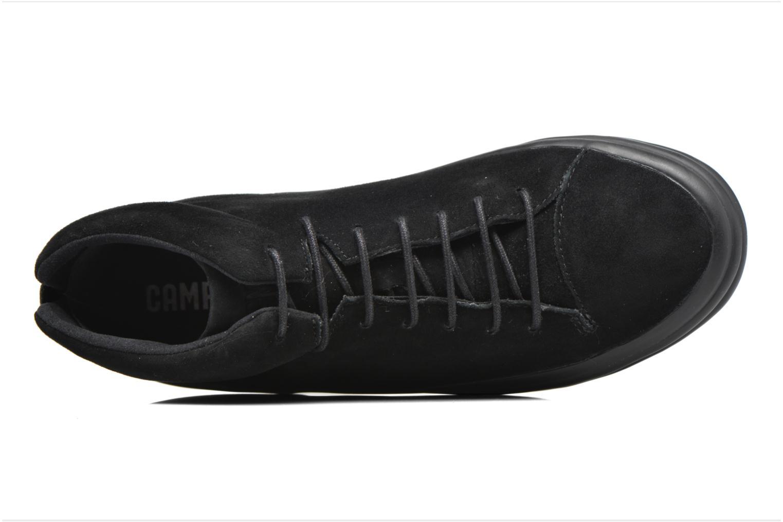 Baskets Camper Hoops K400206 Noir vue gauche