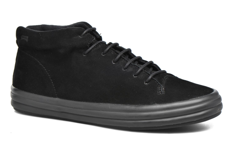 Camper Hoops, Baskets Femme, Noir (Black 001), 35 EU