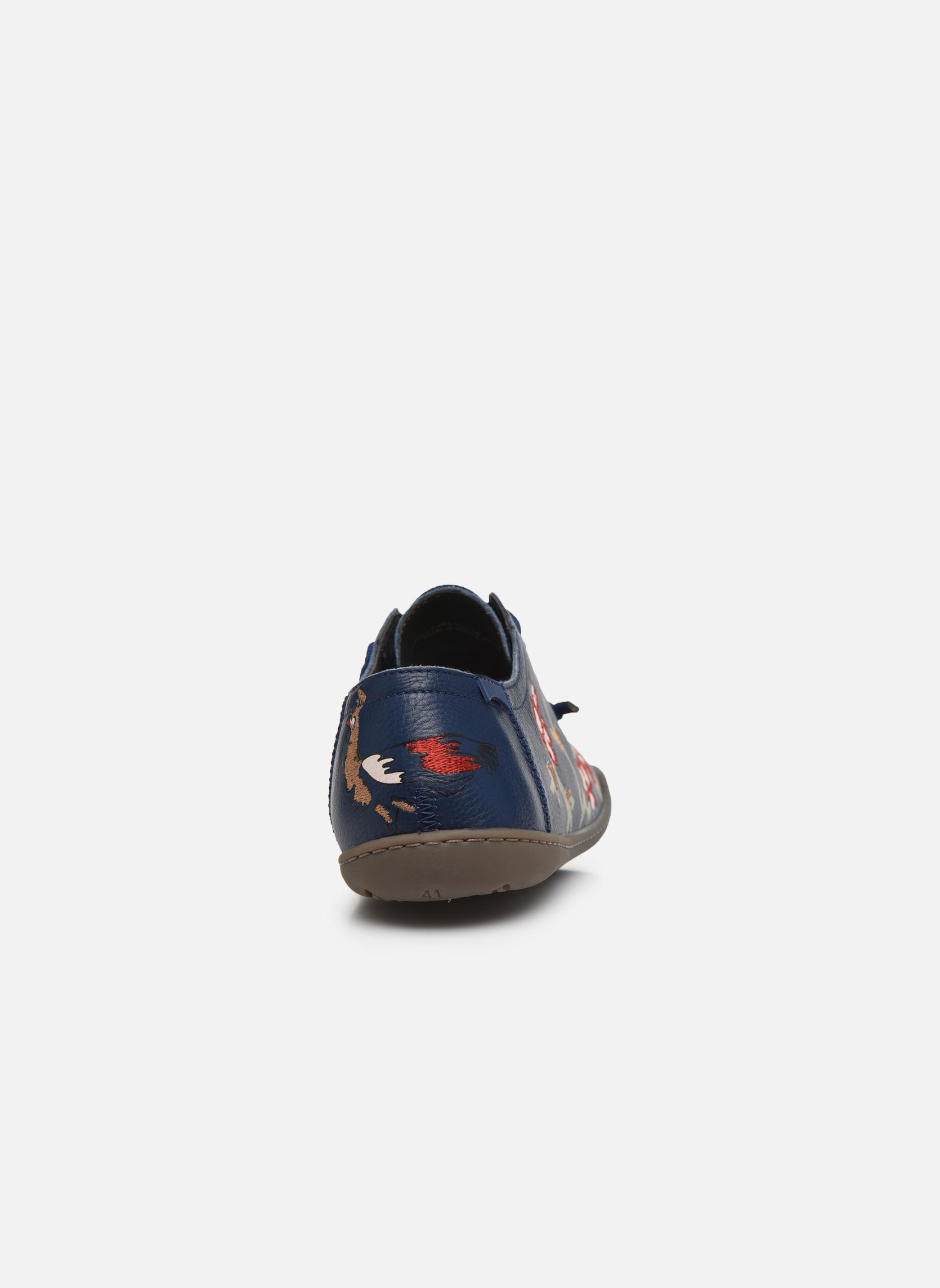 Baskets Camper TWS K200517 Bleu vue droite