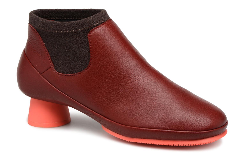 Camper Alright K400218 (Rouge) - Bottines et boots chez Sarenza (329574)