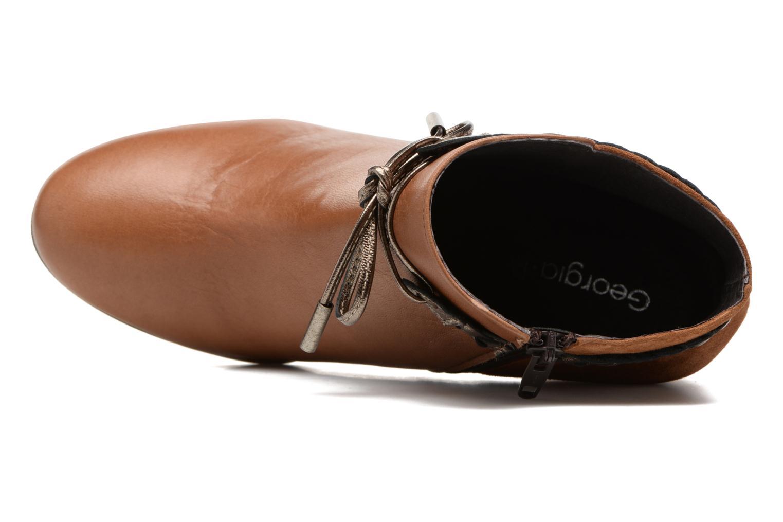 Bottines et boots Georgia Rose Latressa Marron vue gauche