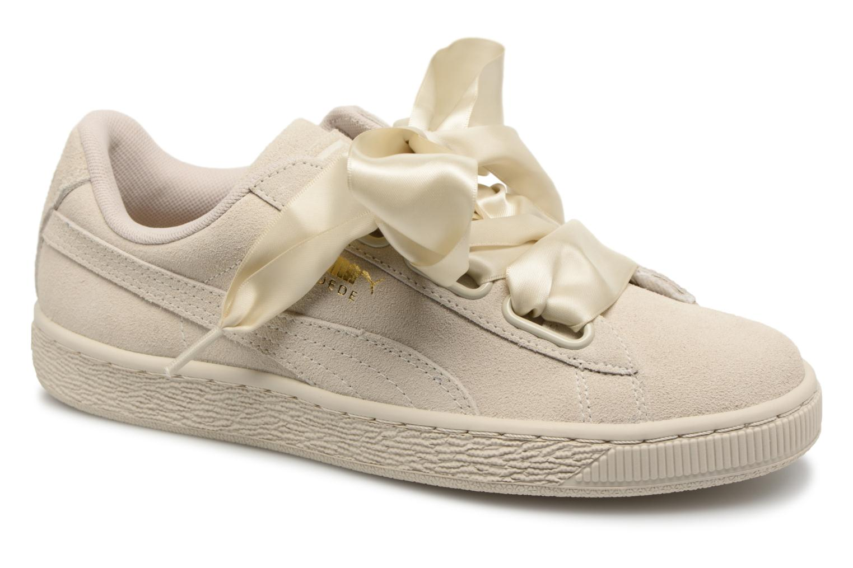 5b07daddab8 Puma Wns Suede Heart Satin II (Groen) - Sneakers chez Sarenza (328385)