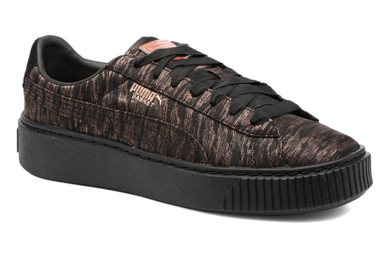 Zapatos promocionales Puma Wns Basket Platform Vr (Negro) - Deportivas   Venta de liquidación de temporada